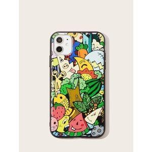 Cartoon & Fruit iPhone 11 Pro Max Case 🍎